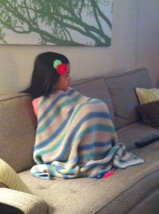 hey, someone stole my blanket!